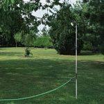 Douche de jardin télescopique à piquet ou trépied, tête orientable de la marque ribimex image 4 produit