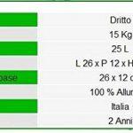 Douche solaire ARKEMA A200 / 6016 Spring S Couleur Vert Turquoise RAL 6016 Douche extérieure en aluminium anticorrosion Forme droite Chauffage à énergie solaire Avec Mitigeur Réservoir 30 litres Hauteur 228 cm de la marque Arkema Design image 2 produit