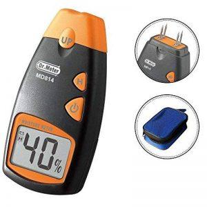 Dr.Meter® MD812 Humidimètre numérique 2-Pin senseur pour les murs, le bois de chauffage, les chapes, le béton et les autres matériaux de construction (pile fournie) de la marque Dr.meter image 0 produit