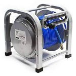 Dévidoir automatique Enrouleur de tuyau pneumatique 30m 12bar 1/4 Pouce de la marque WilTec image 1 produit
