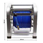 Dévidoir automatique Enrouleur de tuyau pneumatique 30m 12bar 1/4 Pouce de la marque WilTec image 2 produit