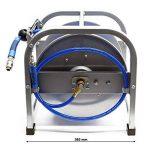 Dévidoir automatique Enrouleur de tuyau pneumatique 30m 12bar 1/4 Pouce de la marque WilTec image 3 produit