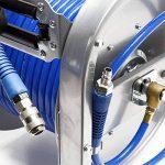 Dévidoir automatique Enrouleur de tuyau pneumatique 30m 12bar 1/4 Pouce de la marque WilTec image 4 produit