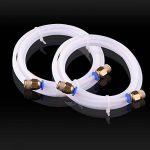 EAONE 2 pièces Téflon Tube PTFE + 4 pièces PC4-M10 Raccords pour Reprap Imprimante 3D 1.75 mm Filament (2.0mm ID/4.0mm OD) de la marque EAONE image 2 produit