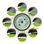 EASTWHARF® -TUYAU D'ARROSAGE SPIRALE AVEC PISTOLET REGLABLE 7,5M ATTAQUE EN METAL de la marque Ideal image 2 produit
