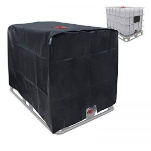 ECD-Germany Bâche Réservoir IBC 120x100x116cm 1000 LTR Capot de Protection UV Couverture de Réservoir D'eau en Aluminium de la marque ECD-Germany image 0 produit