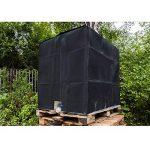 ECD-Germany Bâche Réservoir IBC 120x100x116cm 1000 LTR Capot de Protection UV Couverture de Réservoir D'eau en Aluminium de la marque ECD-Germany image 3 produit