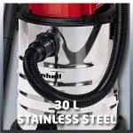 Einhell Aspirateur eau et poussière TC-VC 1930S (1500W, 30L, Cuve Inox, nombreux accessoires) de la marque Einhell image 1 produit