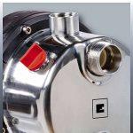 Einhell Groupe de surpression GC-WW 1046 N (1050 W , Débit max. 4.600 l/h, Hauteur de refoulement 48 m , Hauteur d'aspiration 8 m, Pression 4,8 bar, Pression de démarrage max. 1,5 bar , Pression d'arrêt max. 3 bar, Réservoir de pression de 20 litres ) de image 4 produit