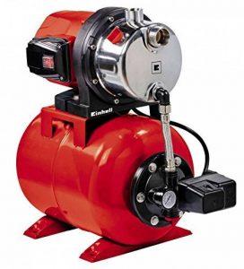Einhell Groupe de surpression GC-WW 1046 N (1050 W , Débit max. 4.600 l/h, Hauteur de refoulement 48 m , Hauteur d'aspiration 8 m, Pression 4,8 bar, Pression de démarrage max. 1,5 bar , Pression d'arrêt max. 3 bar, Réservoir de pression de 20 litres ) de image 0 produit