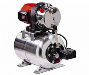 Einhell Groupe de surpression GC-WW 1350 NN (1300 W, Débit max. 5.000 l/h, Hauteur de refoulement 50 m, Hauteur d'aspiration 8 m, Pression 5 bar, Pression de démarrage max. 1,5 bar) de la marque Einhell image 0 produit