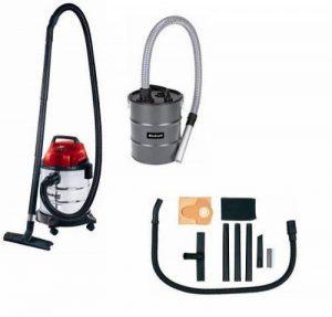 Einhell Kit Aspirateur eaux et poussières TH-VC 1820 S (1250 W, 180 mbar, Longueur tuyau : 1,5 m, Diamètre tuyau : 36 mm, Cuve INOX 20 L) de la marque Einhell image 0 produit