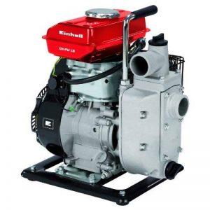 Einhell Pompe d'arrosage thermique GH-PW 18 (1.8 kW, Débit max. 12.000 l/h, Hauteur de refoulement 20 m, Livré avec 2 adaptateurs pour tuyau 38,1 mm, 1 panier d'aspiration et 2 réducteurs 33,3 mm (filetage mâle)) de la marque Einhell image 0 produit