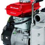 Einhell Pompe d'arrosage thermique GH-PW 18 (1.8 kW, Débit max. 12.000 l/h, Hauteur de refoulement 20 m, Livré avec 2 adaptateurs pour tuyau 38,1 mm, 1 panier d'aspiration et 2 réducteurs 33,3 mm (filetage mâle)) de la marque Einhell image 1 produit