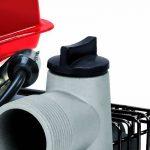 Einhell Pompe d'arrosage thermique GH-PW 18 (1.8 kW, Débit max. 12.000 l/h, Hauteur de refoulement 20 m, Livré avec 2 adaptateurs pour tuyau 38,1 mm, 1 panier d'aspiration et 2 réducteurs 33,3 mm (filetage mâle)) de la marque Einhell image 3 produit