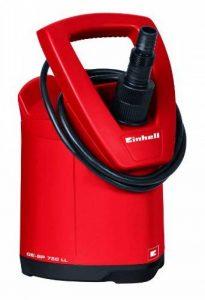 Einhell Pompe d'évacuation eaux claires GE-SP 750 LL (750 W, Débit max. 15.000 l/h, Hauteur de refoulement 10 m, Profondeur d'immersion 5 m, Pression 1 bar, Hauteur d'aspiration à plat 2 mm, Température de l'eau 35 °C, Diamètre de la particules 5 mm) de l image 0 produit