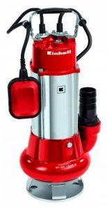 Einhell Pompe d'évacuation GC-DP 1340 G (1300 W, Débit max. 23.000 l/h, Câble d'alimentation 10 m avec flotteur, Livrée avec Filin 6 mètres) de la marque Einhell image 0 produit