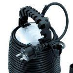 Einhell Pompe d'évacuation pour eaux chargées GH-DP 5225 N (520 W, Débit max. 10.000 l/h, Hauteur de refoulement 7 m, Profondeur d'immersion 5 m, Hauteur d'aspiration 40 mm) de la marque Einhell image 2 produit