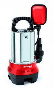 Einhell Pompe d'évacuation pour eaux chargées GH-DP 5225 N (520 W, Débit max. 10.000 l/h, Hauteur de refoulement 7 m, Profondeur d'immersion 5 m, Hauteur d'aspiration 40 mm) de la marque Einhell image 0 produit