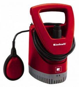 Einhell Pompe multifonctions évacuation et collecteur d'eau de pluie RG-SP 300 RB (300 W, Débit max. 4.600 l/h , Hauteur de refoulement 11 m, Profondeur d'immersion 7 m, Diamètre de la particule 2,5 mm) de la marque Einhell image 0 produit