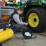 Enrouleur de tuyau pneumatique 20m Standard Ø 6/12 Brennenstuhl 1127020 de la marque Brennenstuhl image 1 produit