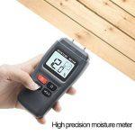 ERAY Humidimètre du Bois avec Écran LCD Rétroéclairé Numérique - Testeur de l'Humidité Détecteur de l'Humidité pour Mesurer le Pourcentage d'eau dans le Bois 1%~99% RH, 4 AAA Piles Founies de la marque ERAY image 4 produit