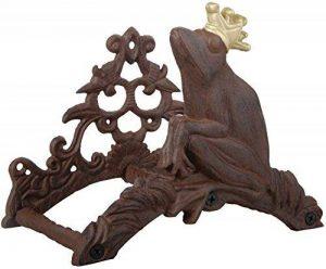 Esschert Design Support mural pour tuyau d'arrosage en fonte avec grenouille décorative à couronne E de la marque esschert image 0 produit