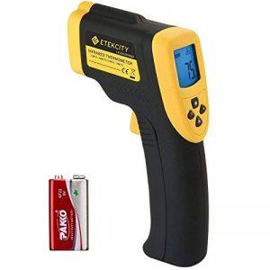 Etekcity 800 Thermomètre Infrarouge Sans Contact Laser de -50°C à 750°C, Pile fournie, Ecran LCD Rétroéclairé, Garantie 2 Ans de la marque ETEKCITY image 0 produit