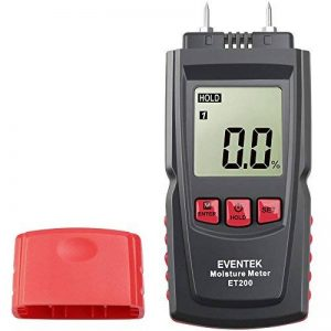 Eventek Humidimètre avec 2 broches Capteur numérique bois Humidimètre Humidimètre pour les murs, bois, chape, béton et les autres matériaux de construction Hydratant Detector de la marque eventek image 0 produit