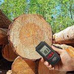Eventek Humidimètre avec 2 broches Capteur numérique bois Humidimètre Humidimètre pour les murs, bois, chape, béton et les autres matériaux de construction Hydratant Detector de la marque eventek image 4 produit