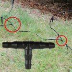 Everpert 100x Té Connecteurs pour tuyau d'arrosage d'eau joints de tuyau Système d'arrosage de la marque Everpert image 1 produit