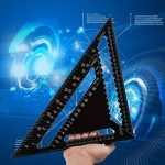 Everpert 30,5cm Règle triangulaire pour travail du bois carré mise en page Jauge Outil de mesure de la marque Everpert image 1 produit