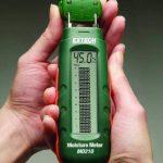 Extech MO210 Humidimètre de poche avec écran LCD numérique/affichage de graphique à barres analogique de la marque EXTECH image 2 produit