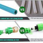 extensible Jardin Tuyau d'eau–3fois extensible et pistolet à antifuite avec fixations en laiton et flexible Crochet/Hanger 15,2m Magic-hose tuyaux (Vert) de la marque AILUZE image 4 produit