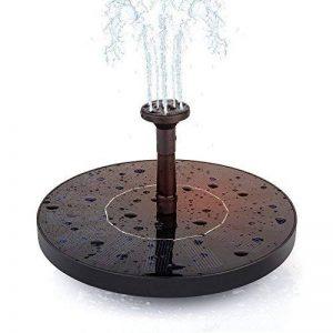 extérieur d'irrigation Pompe submersible, bain d'oiseau solaire Pompe de fontaine pour jardin et terrasse, Free Standing 1,4W Panneau flottant kit de pompe à pompe à eau de la marque lazy penguin image 0 produit