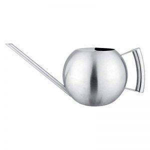 Fdit Arrosoir Pot Arrosage de capacité élevée en Acier inox Design Demi-ouvert pour Plantes Patio jardins bureau intérieur en plein air 1L de la marque Fdit image 0 produit