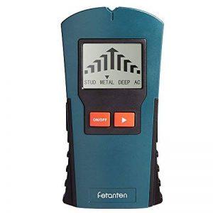 Fetanten détecteur de goujon de détection de métaux, détecteur d'angle numérique et détecteur de câble pour bois / profond, détecteur de goujons et détecteur de métaux avec écran LCD, testeur de câble pour AC Live Wire, 4 en 1 Multi Tools Détecteurs de mé image 0 produit