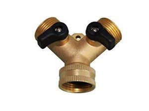 Filtrotech Raccord en Y pour tuyaux d'arrivée d'eau avec robinet d'arrêt 2 voies pour lave-vaisselle ou machine à laver de la marque Filtrotech GmbH image 0 produit