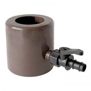 First Plast rapf186m Récupérateur eau de pluie avec parafoglie et vanne Raccord de tuyau marron de la marque First Plast image 0 produit