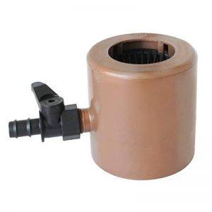 First Plast rapf186r Récupérateur eau de pluie avec parafoglie et vanne Raccord de tuyau marron de la marque First Plast image 0 produit