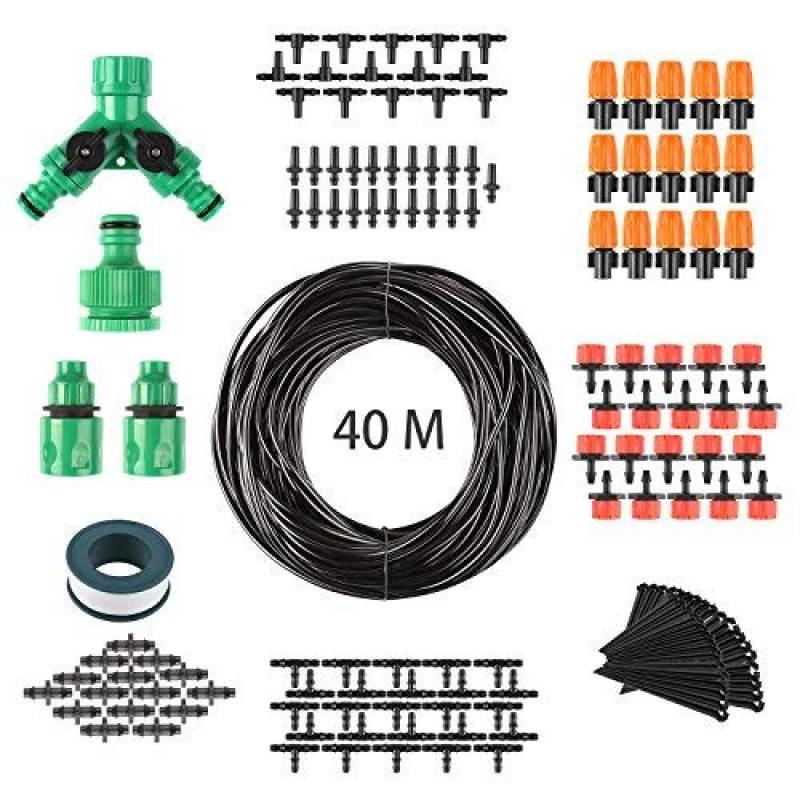 Notre sélection de arrosage automatique   Note Amazon. FIXKIT 40M Kit Micro  Irrigation Goutte ... 2e3a124342a5