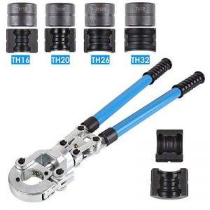 FIXKIT Pince à Sertir TH PER & MulticouchePince à Sertir pour Tube Contour avec Mors PER & Multicouche16mm-20mm-25mm-32mm pour Tube PEX, Tube Composite (TH) de la marque Fixkit image 0 produit