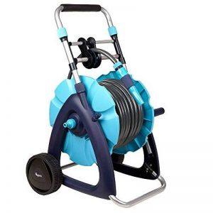 Flopro 70300455Tuyau et système de chariot 30m, Bleu, 40.5x 40.5x 7.6cm de la marque Flopro image 0 produit
