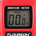 Floureon Humidimètre Numérique Portable à Pointes Testeur d'Humidité pour le Bois, le Bambou et le Bois de Chauffage de la marque Floureon image 4 produit
