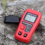 Floureon Humidimètre Numérique Portable à Pointes Testeur d'Humidité pour le Bois, le Bambou et le Bois de Chauffage de la marque Floureon image 1 produit