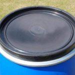 Fût alimentaire 220 litres ouverture totala, baril polyéthylène bleu (22119) de la marque Wilai image 3 produit
