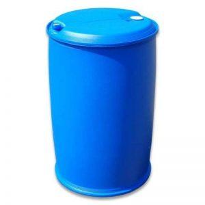 Fût à bonde 220 L couvercle L-ring, baril polyéthylène bleu (22118) de la marque Wilai image 0 produit