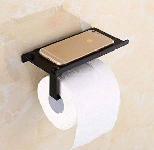 Fyore Mural Rouleau Papier Toilette de Téléphone Support Acier Inoxydable Porte Dévidoir Distributeur (Noir) de la marque Fyore image 0 produit