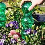Garden Innovations Aqua balance Plante d'arrosage Pointes et globes avec temps/température contrôlée (lot de 4), jardin, Vert, 1.25litre de la marque Garden Innovations image 5 produit