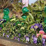 Garden Innovations Aqua balance Plante d'arrosage Pointes et globes avec temps/température contrôlée (lot de 4), jardin, Vert, 1.25litre de la marque Garden Innovations image 2 produit